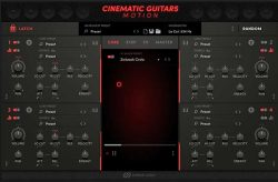 cinematic guitars motion